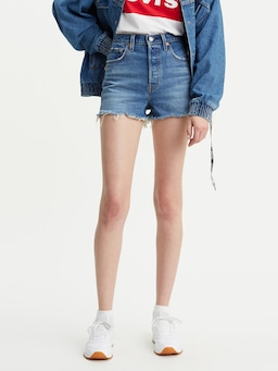 Levis Ribcage Short Urban Oasis
