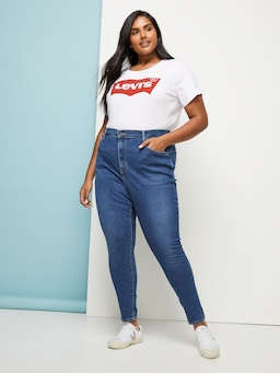 Levis Plus Perfect Tee In White
