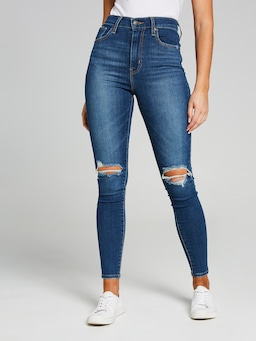Levi's Mile High Super Skinny In Shady Business
