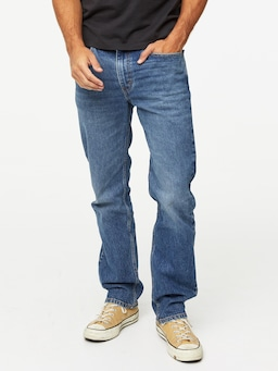 Levis 516 Straight Pumpkin In Denim