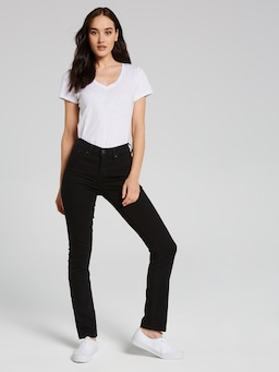 Levi's 312 Shaping Slim Jean In Black Sheep