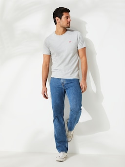 Levi's 516 Straight In Stonewash 30