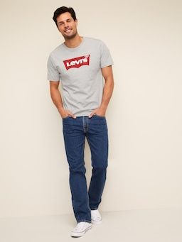 Levi's 516 Straight Jean In Dark Stonewash