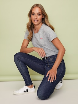 Levi Mile High Jean In Upgrade Rinse