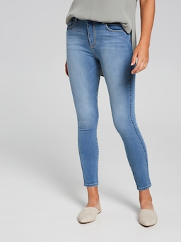 4D Stretch Extra High Rise Ankle Jean
