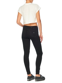 Abrand Low Rise Skinny Black Magic