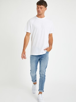 Abrand Drop Skinny In Yell Blue