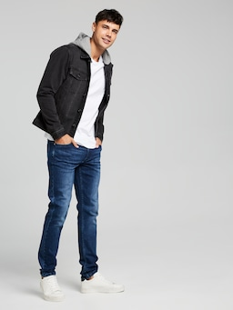 Henry Hooded Denim Jacket