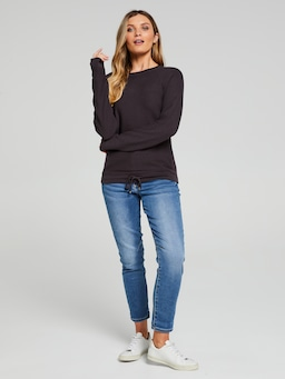 Paige Drawcord Pullover
