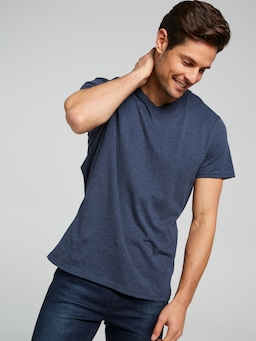 Basic V Neck Marle Tee