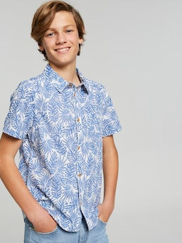 Boys Jeremiah Linen Look Shirt