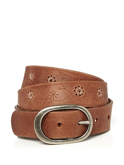 Daisy Handstitched Belt