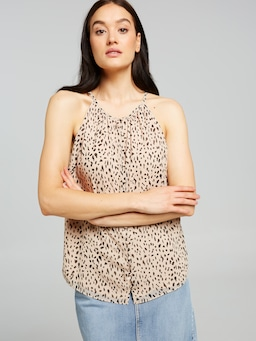 Luna Button Thru Halter