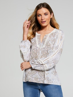Sienna Emb Lace Insert Popover