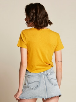 Lee Vintage Outland Tee In Gold