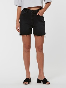 Lee High Relaxed Short Black