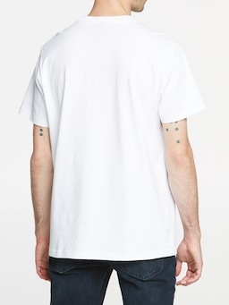 Lee Hollow Tee White N3