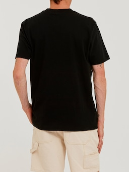 Lee Denim Tee In Washed Black