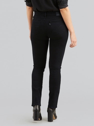 Levi's 712 Slim Jean In Black Sheep