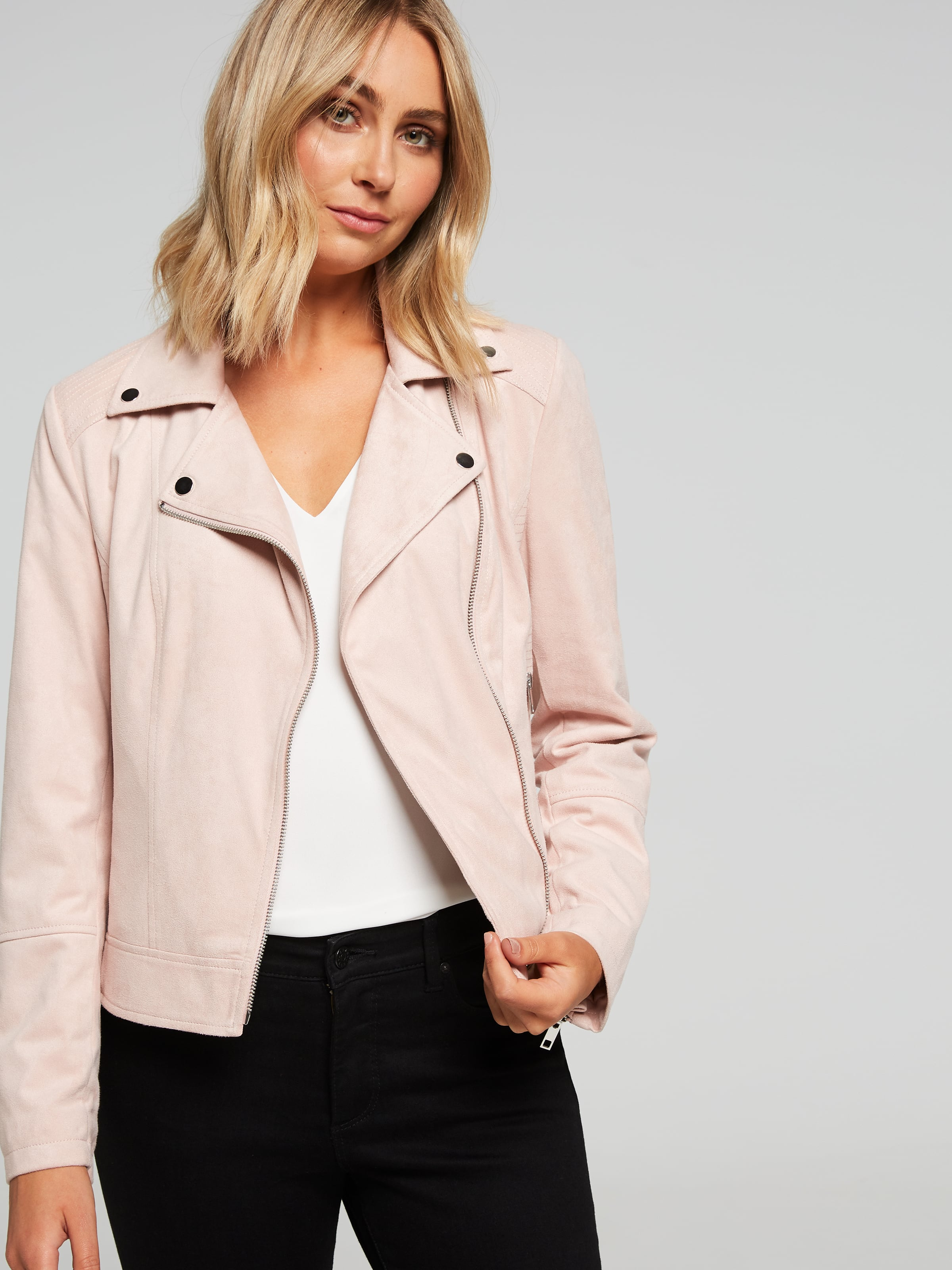 Maegan Suedette Jacket